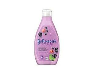 Гель для душу з екстрактом малини Johnson's Body Care Vita-Rich 250мл