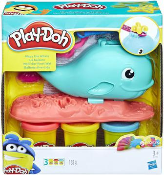 Игровой набор Hasbro Play-Doh Веселый Кит