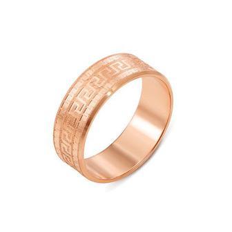 Обручальное кольцо с алмазной гранью. Артикул 1070/7