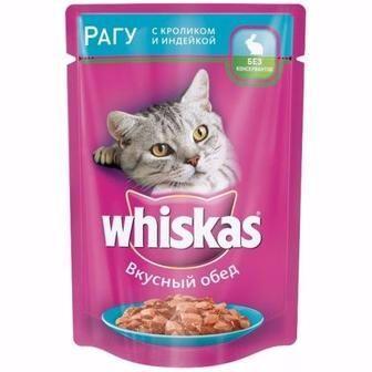 Корм для котів Whiskas 100г
