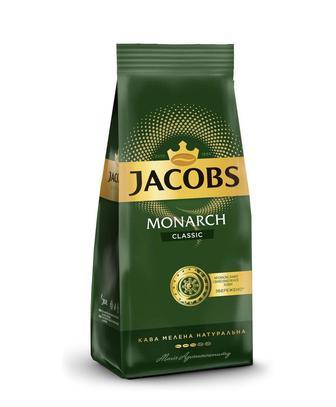 Кава мелена «Monarch» Intense або classic Jacobs 450 г