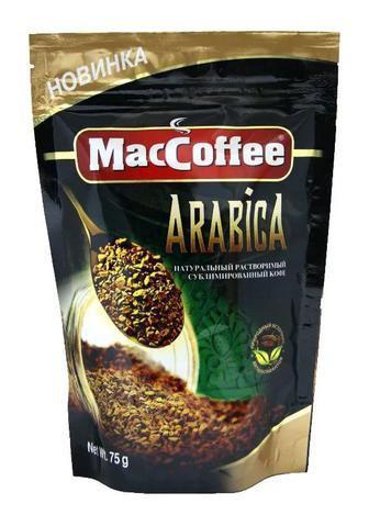 Кофе Arabica, 75г, Мак Кофе