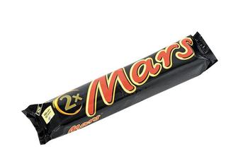 Батончик х2 з нугою і карамеллю, вкритий молочним шоколадом Mars
