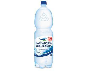 Вода мінеральна Карпатська Джерельна, 1,5 л