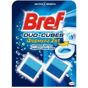 Засіб Bref Wc Duo-Cubes для туал. активна чистота 2шт