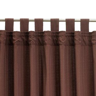 Фіранка ALVIK 145x245см коричневий