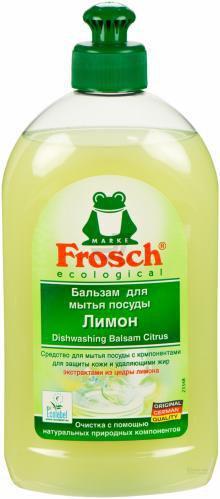 Бальзам для ручного миття посуду Frosch Лимон 0,5л