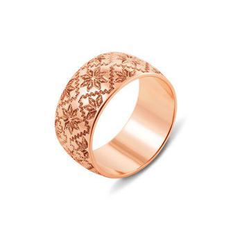 Обручальное кольцо с алмазной гранью. Артикул 10150/1