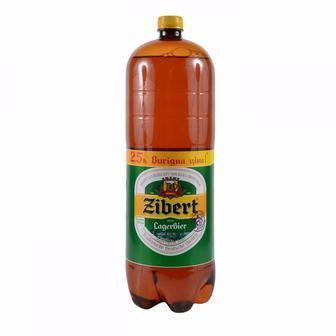 Пиво Zibert Світле 4,4% пет, Zibert, 2,4 л