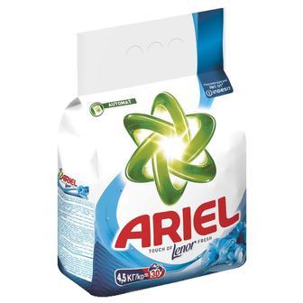 Порошок пральний Ariel Touch of Lenor Fresh, 4,5 кг