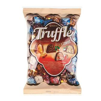 Конфеты Truffle ассорти с орехом, с карамелью, с клубникой, с кокосом кг
