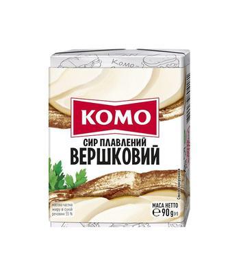 Сир плавлений Комо 55% 90г