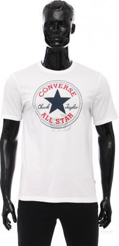 Футболка Converse CORE CHUCK PATCH TEE Carry-Over 10002848-102 S білий