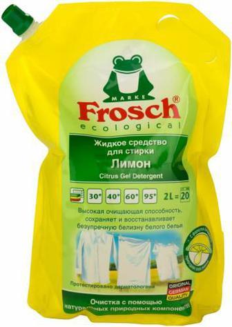 Рідкий засіб для машинного прання FROSCH Лимон 2 л