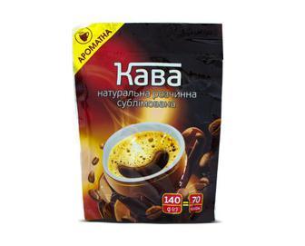 Кава розчинна сублімована, 140 г