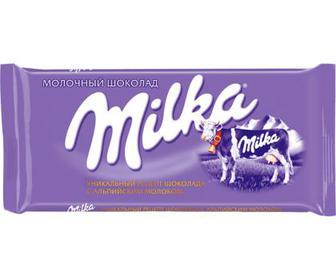 Акция ▷ Шоколад молочний, 90 г Milka