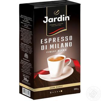 Кофе Jardin Espresso di milano молотый 250г