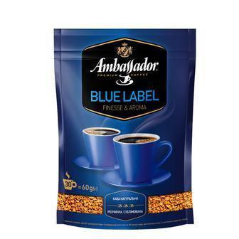 Кава розчинна Blue Label Ambassador 205 г