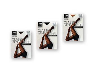 Колготки жіночі Classic pantyhose, 40 ден, беж./чорн./капуч., р. 2, 3, 4, 5 Своя Лінія