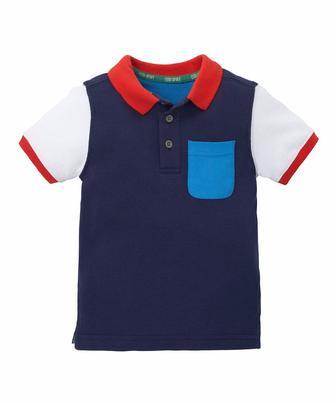 Сорочка-поло з тканини піке від Mothercare