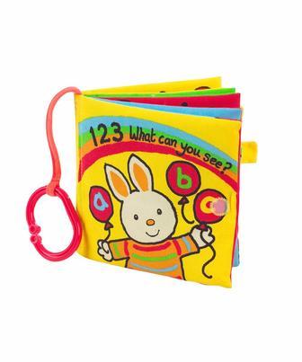"""Книга """"Що можна побачити 1 2 3"""" від Mothercare"""