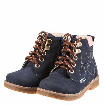 Ботинки демисезонные Eleven Shoes темно-лазурного цвета