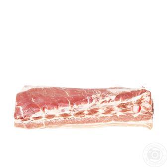 Грудинка свиная охлажденная кг