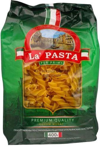 Мак.вироби La Pasta Спіральки 400г