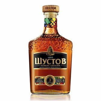 Коньяк Шустов 3* 0,5л