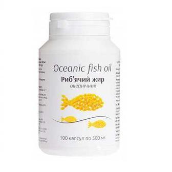 Рыбий жир Океанический капс. 1000 мг №60