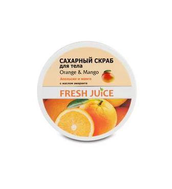 Скраб для тіла Fresh Juice Апельсин і Манго 225мл