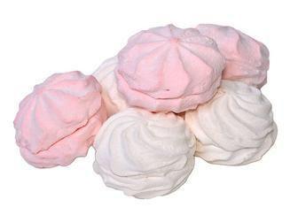 Зефір Білий або рожевий Фуршет 100 г