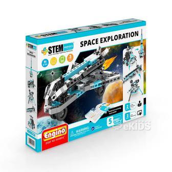 Конструктор серії STEM HEROES 5 в 1 - Дослідження космосу
