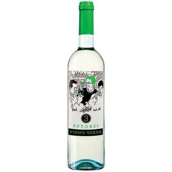 Скидка 40% ▷ Вино 3 Autores Verde біле сухе 0,75л
