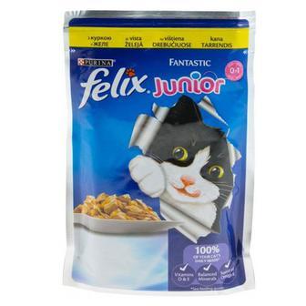 Корм для котів Felix Fantastic Purina 100 г