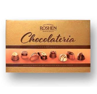 Цукерки Roshen Chocolateria 194г