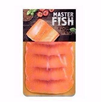 Горбуша холодного копчення нарізка   Master Fish, 90 г