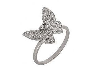 Золотое кольцо с фианитами 01-16982771