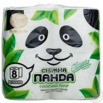 Туалетний папір Сніжна Панда Elite 4 шт.