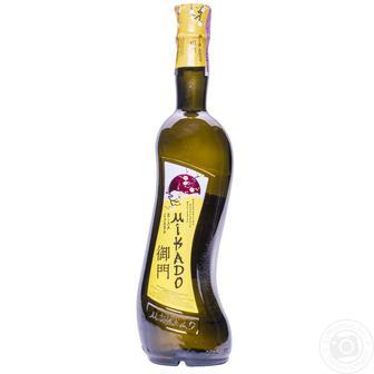 Вино виноградне біле Мікадо слива біла, вишня, 0,7 л