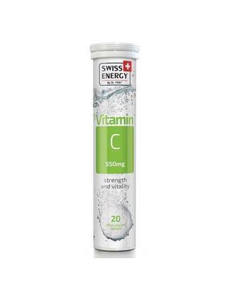 Витамины шипучие Swiss Energy Vitamin C №20