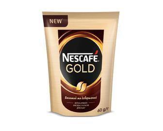 Кава розчинна Gold Nescafe 60 г