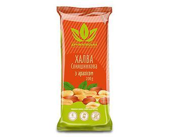 Халва «Дружківська» з арахісом, 200г
