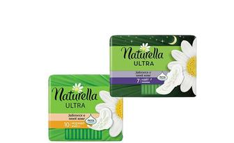 Прокладки гігієнічні Ultra Camomile Normal, 10 шт. Ultra Camomile Night, 7 шт. Naturella