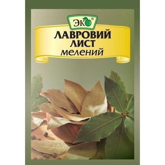 Лавровий лист мелений Эко 20г