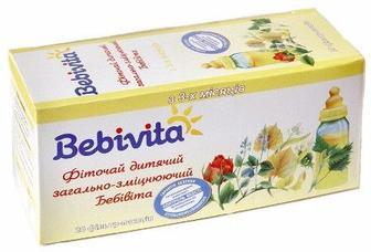 Фиточай Bebivita 011-У детский общеукрепляющий 30г