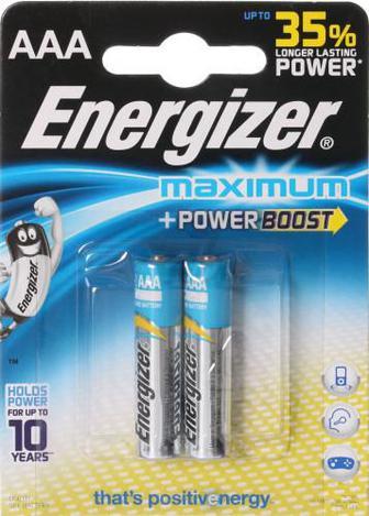 Батарейка Energizer Maximum FSB2 ААА 2 шт. (638441)