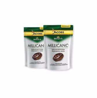Кава Міллікано розчинна екон.пак, 120 г, Jacobs