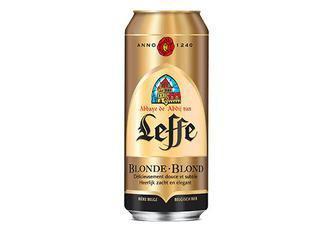 Пиво Leffe Blonde або Leffe Brune 0,5л