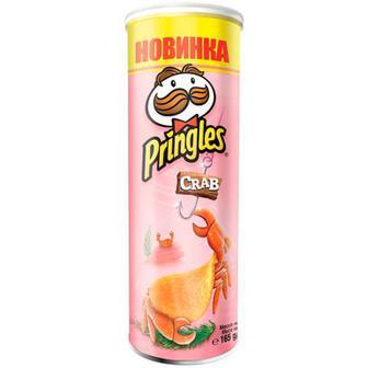 Чіпси Pringles Crab 165г